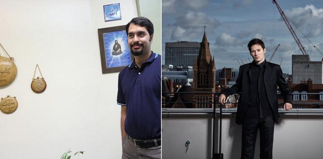 پاول دوروف و محمود جواد شکوری