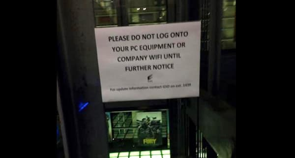 اطلاعیه شرکت سونی در دفتر لندن