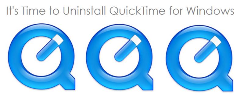 زمان آن رسیده که QuickTime را از ویندوز حذف کنید.