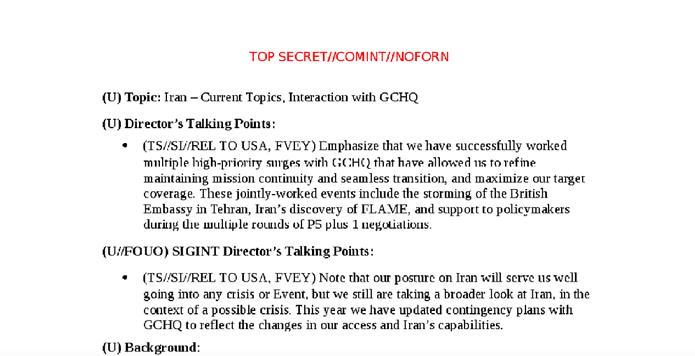 سند منتشر شده از نگرانی سازمان امنیت ملی آمریکا در مورد هکرهای ایرانی