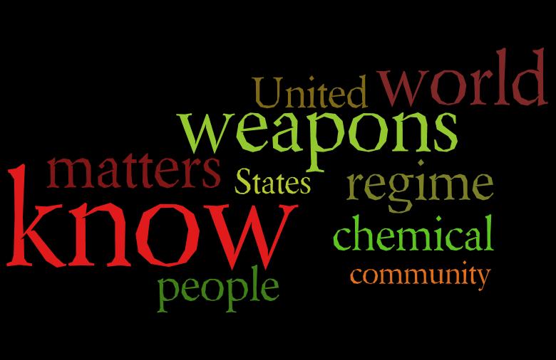 ۱۰ کلمه پراستفاده شده در سخنرانی جان کری در مورد سوریه