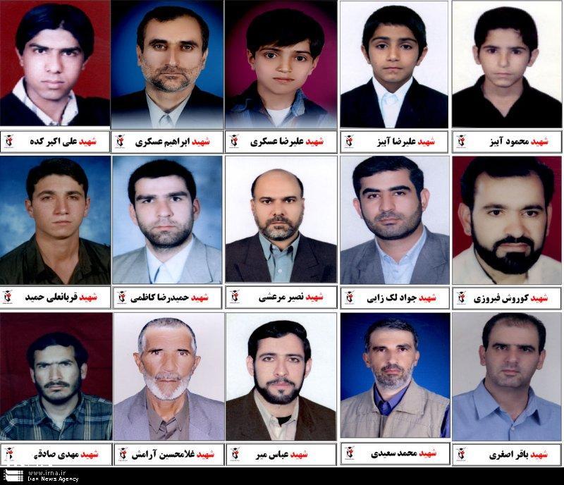 اسامی 15 نفر از قربانیان بمبگذاری مسجد امیرالمومنین