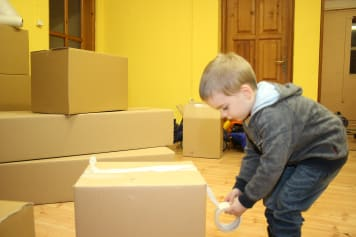 Csomagolás költöztetés