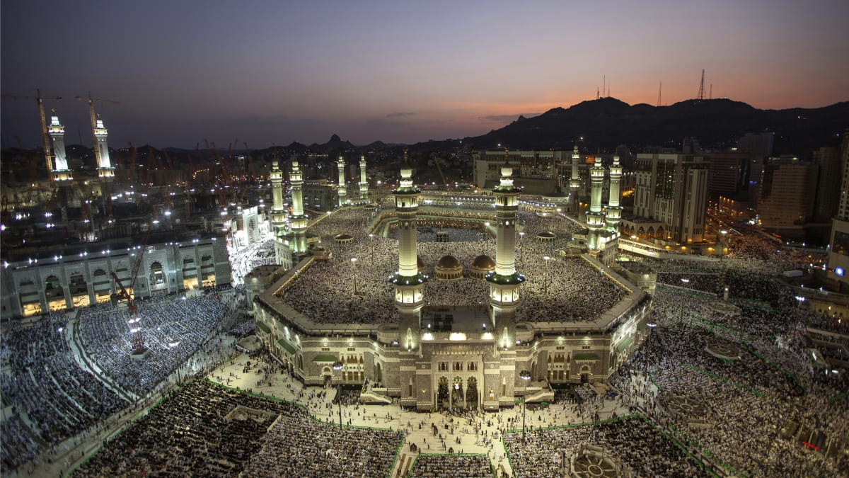 A view of Masjidil Haram during Ramadhan