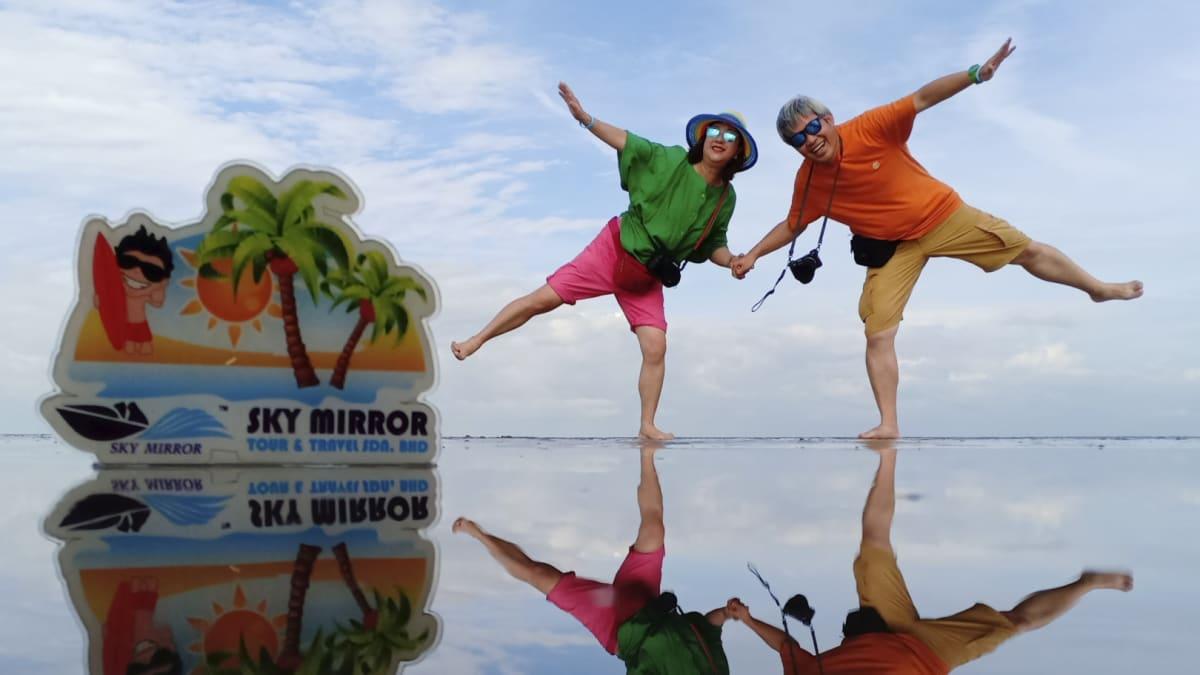 Lawatan ke Sky Mirror di Kuala Selangor Bersama Tripfez