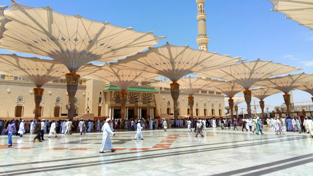 Umrah Oktober (Premium): Madinah → Mekah Bersama Tripfez