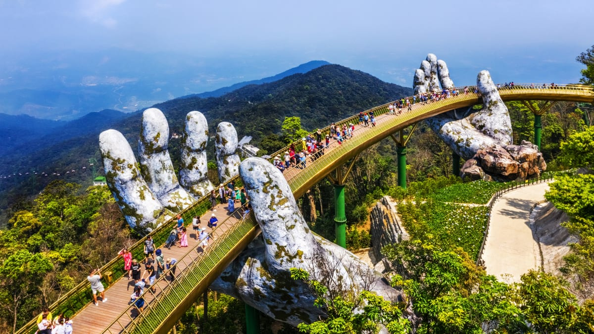 Lawatan Da Nang X Hue X Hoi An X Sun World Bana Hills (Beli 3 Percuma 1) Bersama Tripfez