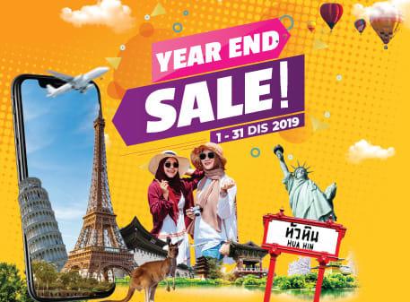 Rancang percutian anda tahun hadapan dengan promo Jualan Akhir Tahun kami!