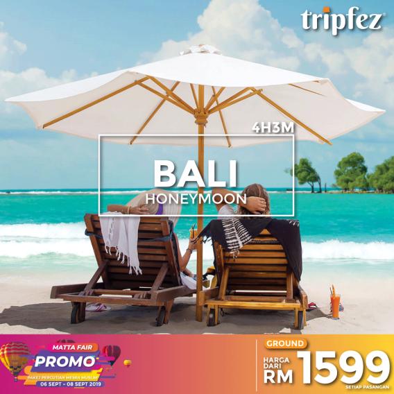 Tripfez MATTA fair bali honeymoon for two