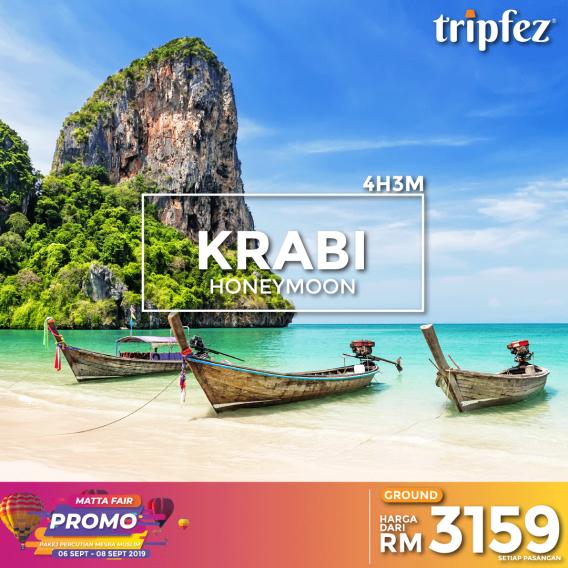 Tripfez MATTA fair krabi honeymoon for two