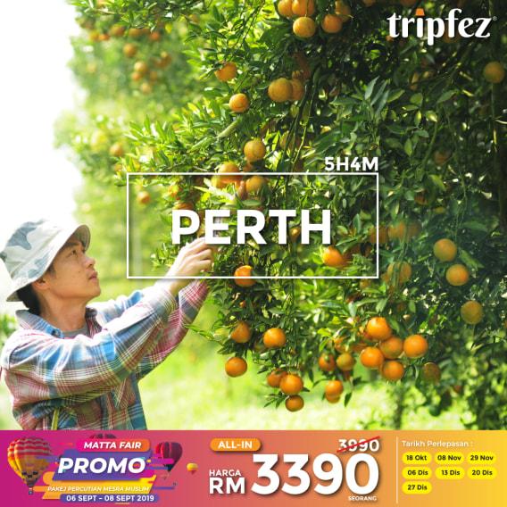Tripfez MATTA fair perth Australia