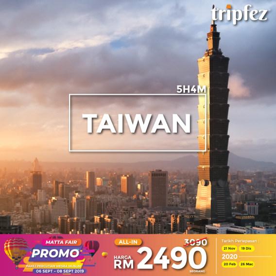 Tripfez MATTA fair taiwan