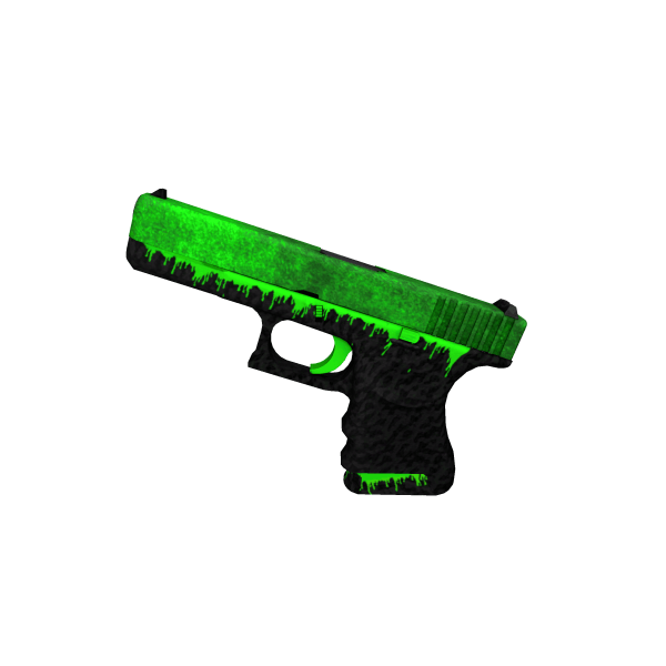 Glock-18 | Toxificated (Factory New)