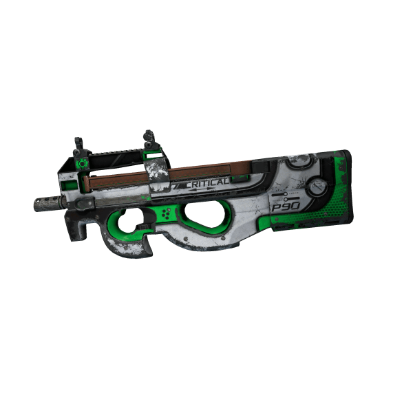 P90 | Critical (Battle-Scarred)