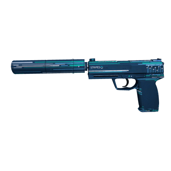 USP-S | Stripes (Minimal Wear)