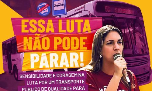 Leia nosso post - TRANSPORTE PÚBLICO: ENQUANTO MUITOS SE CALAM, CONTINUAMOS FIRMES NA LUTA!!
