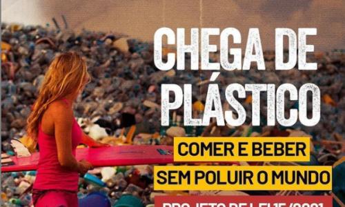 Leia nosso post - Larissa Gaspar luta pelo fim do uso de utensílios de plástico