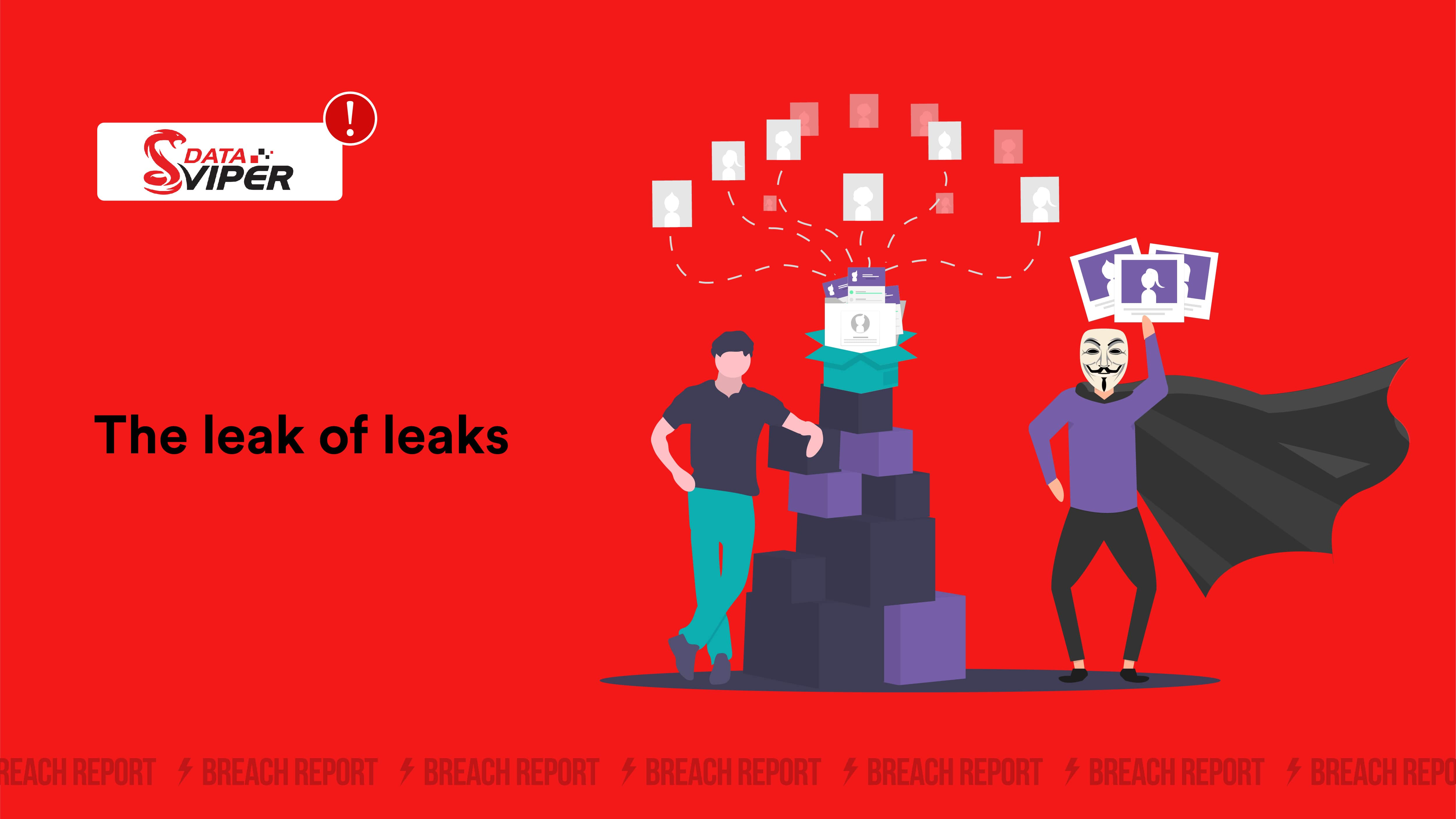 data breach antivirus data leak breach monitoring cyber security data viper