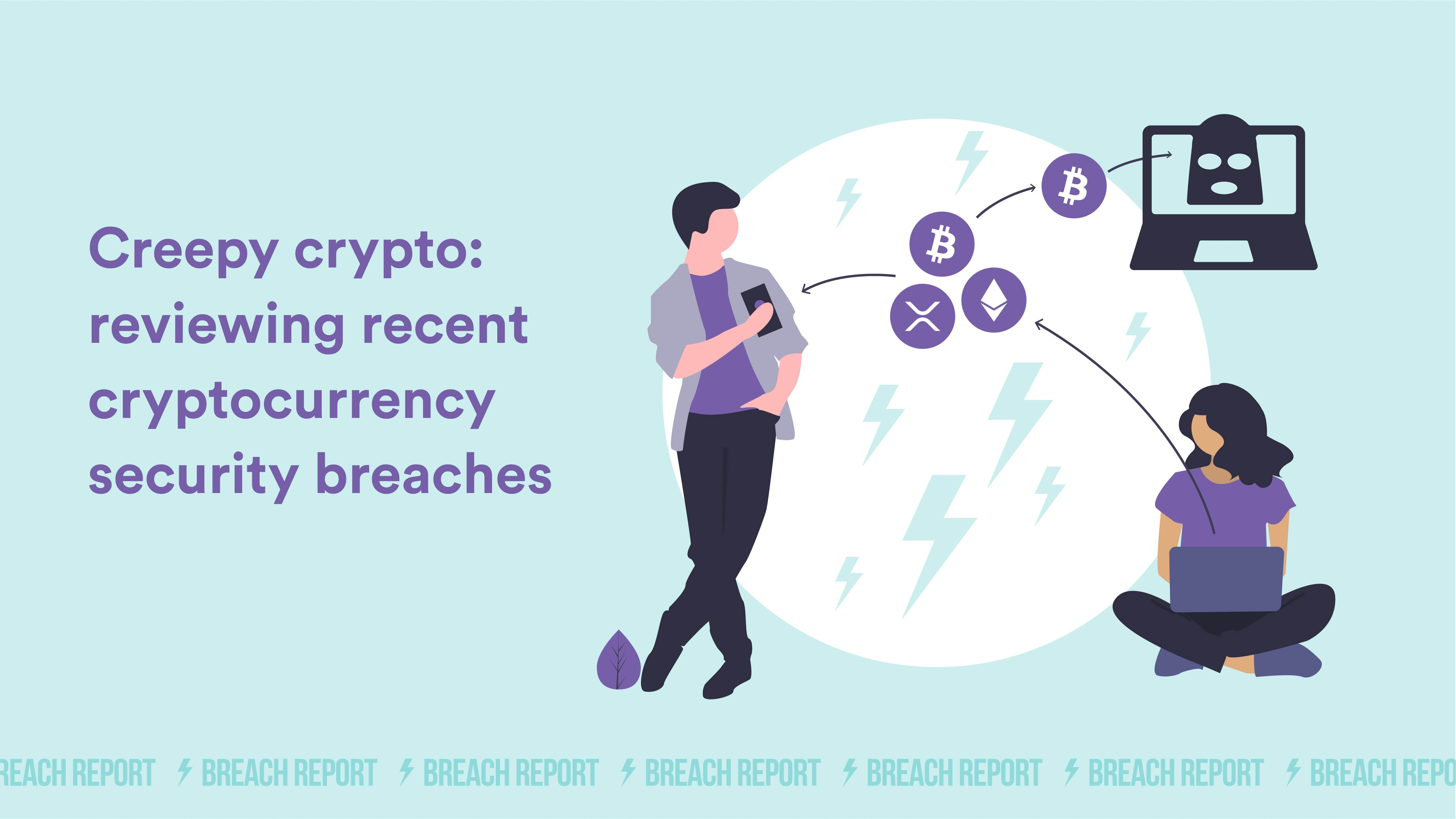 cybersec bitcoin breach report news 2020 data leak