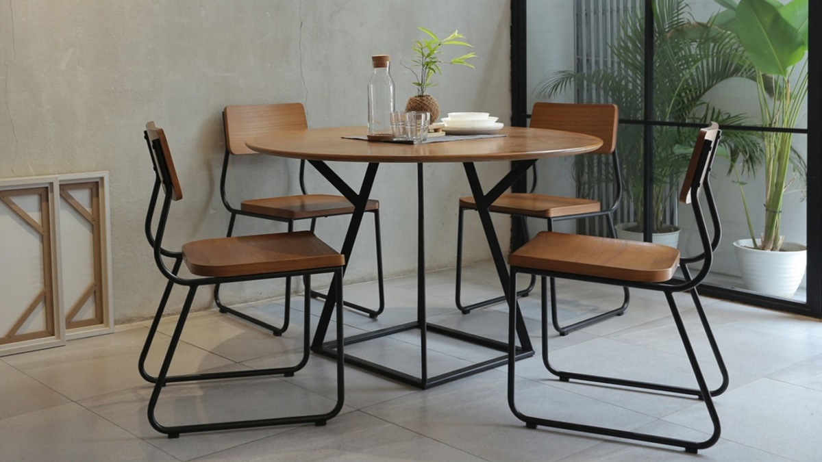 HBF Packages -  Industrial Dining Room