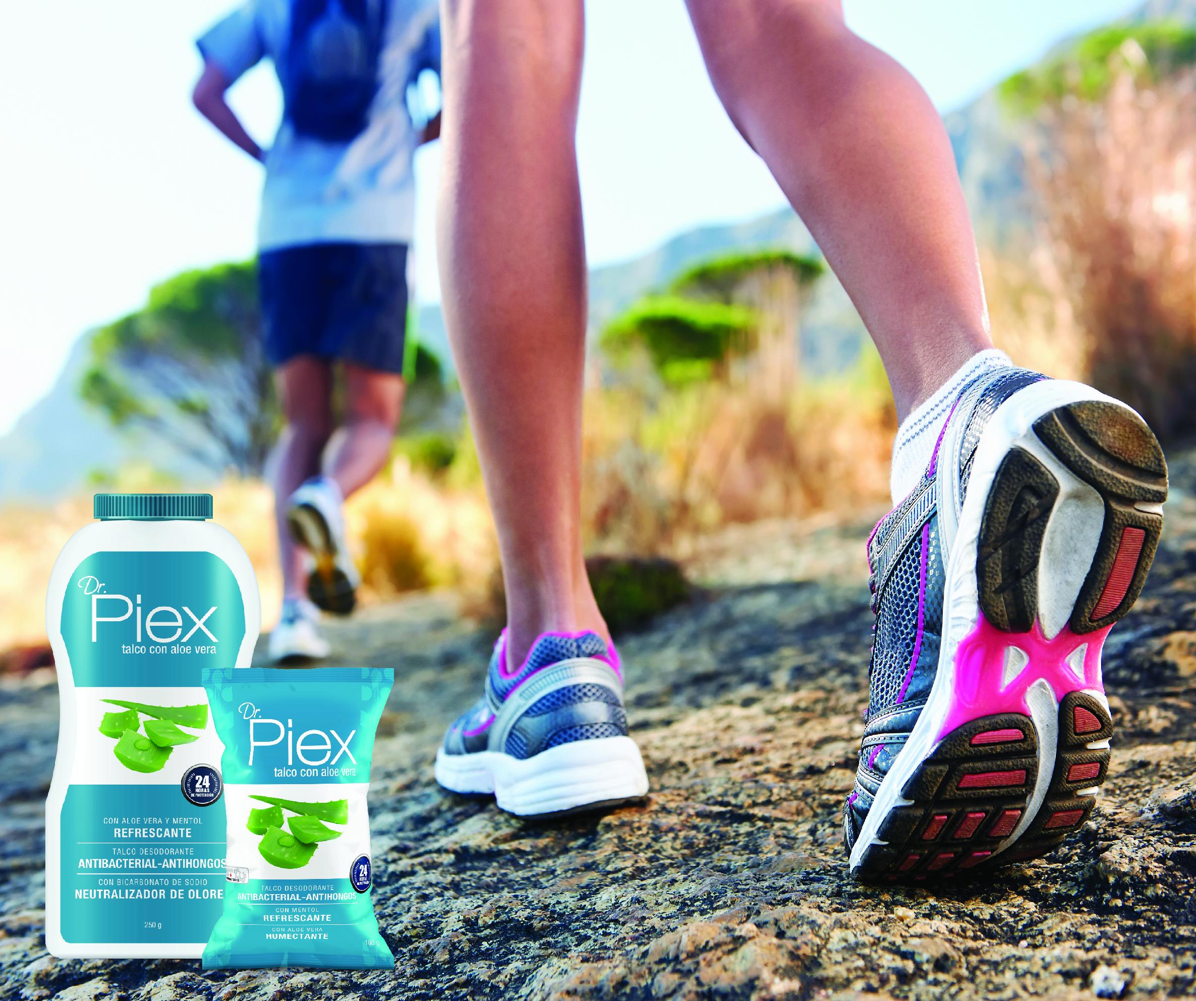 PIEX: Pies limpios y frescos siempre.