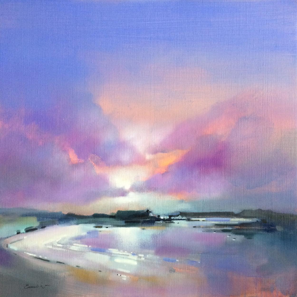 Sunset Silver Sands, Arisaig