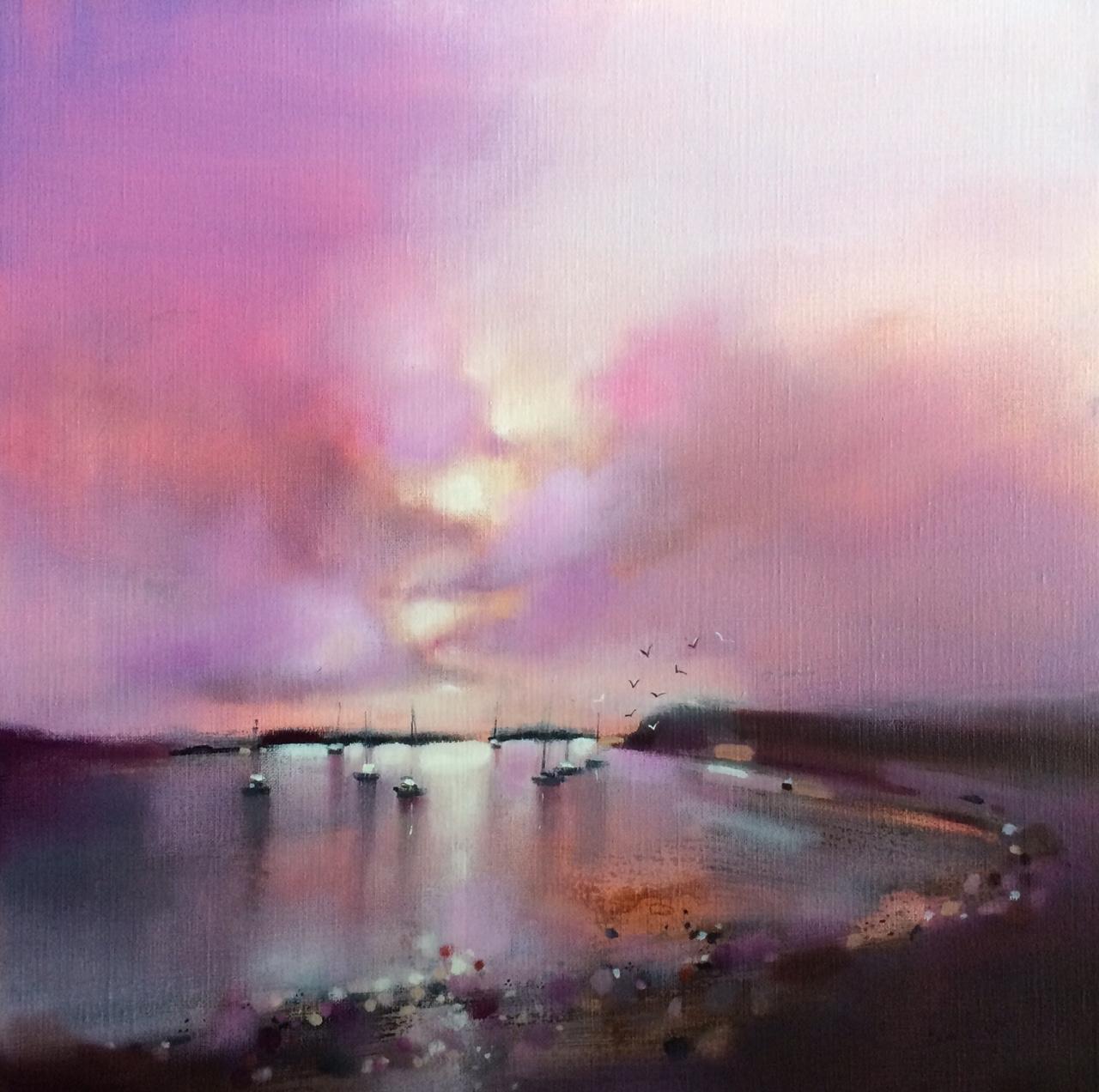 Sunset Loch Bay