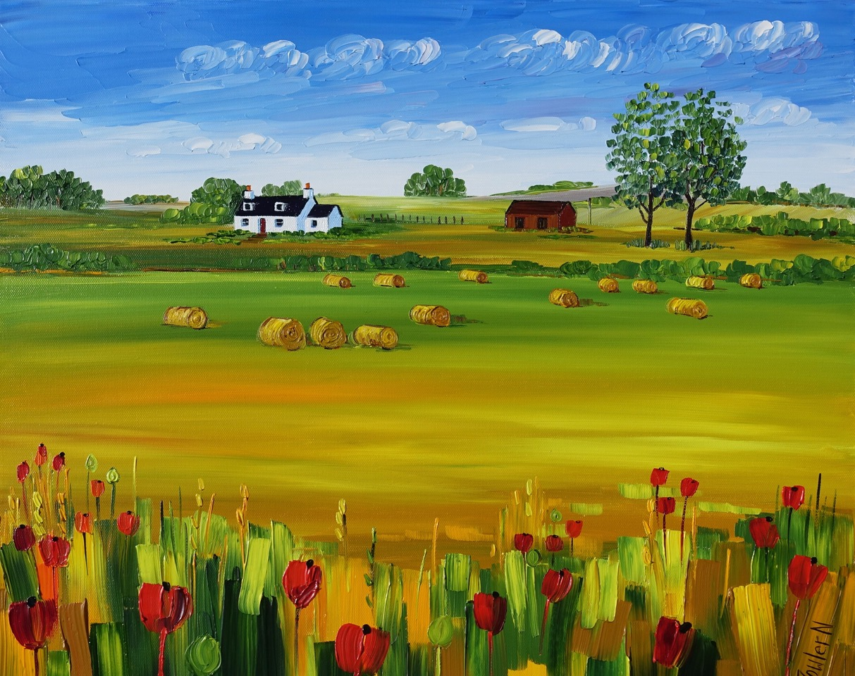Harvest & Poppies