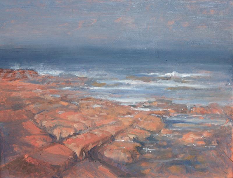 Rocks in Evening Light