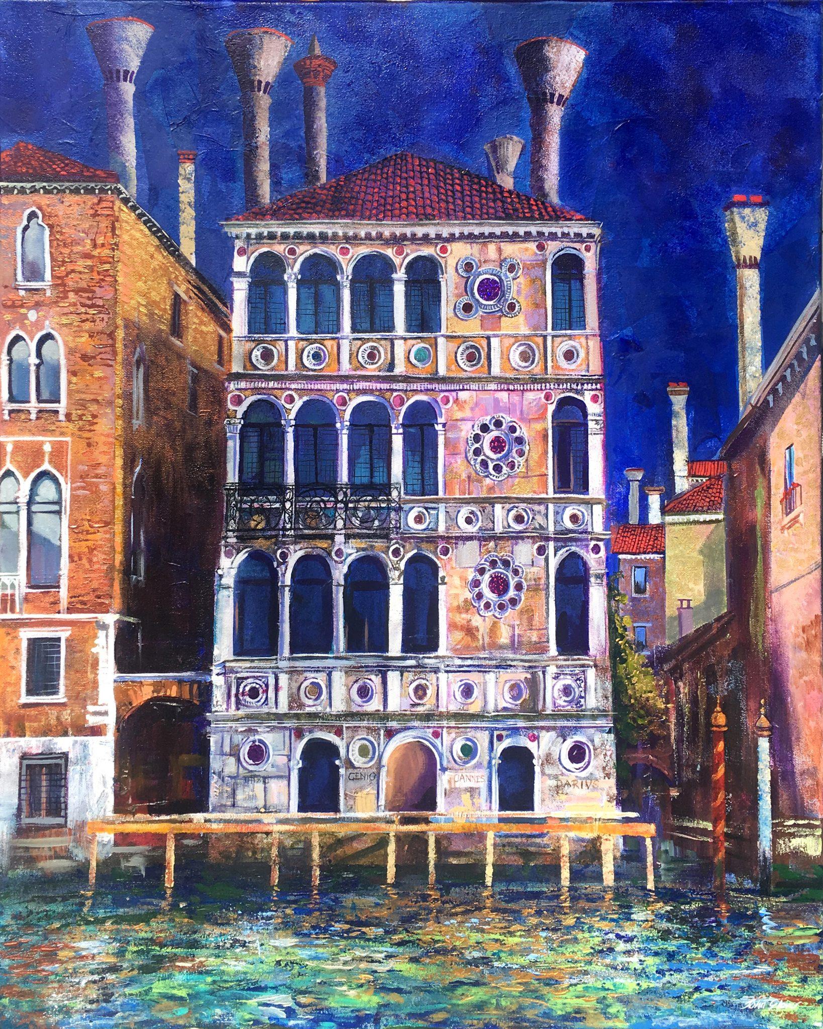 The Palazzo Dario Grand Canal Venice