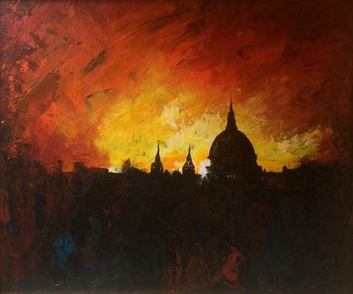 St Paul's Sunset
