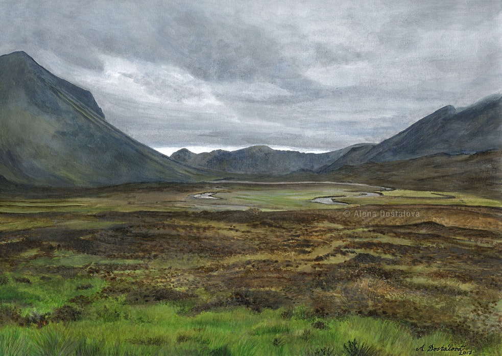 Sligachan Valley