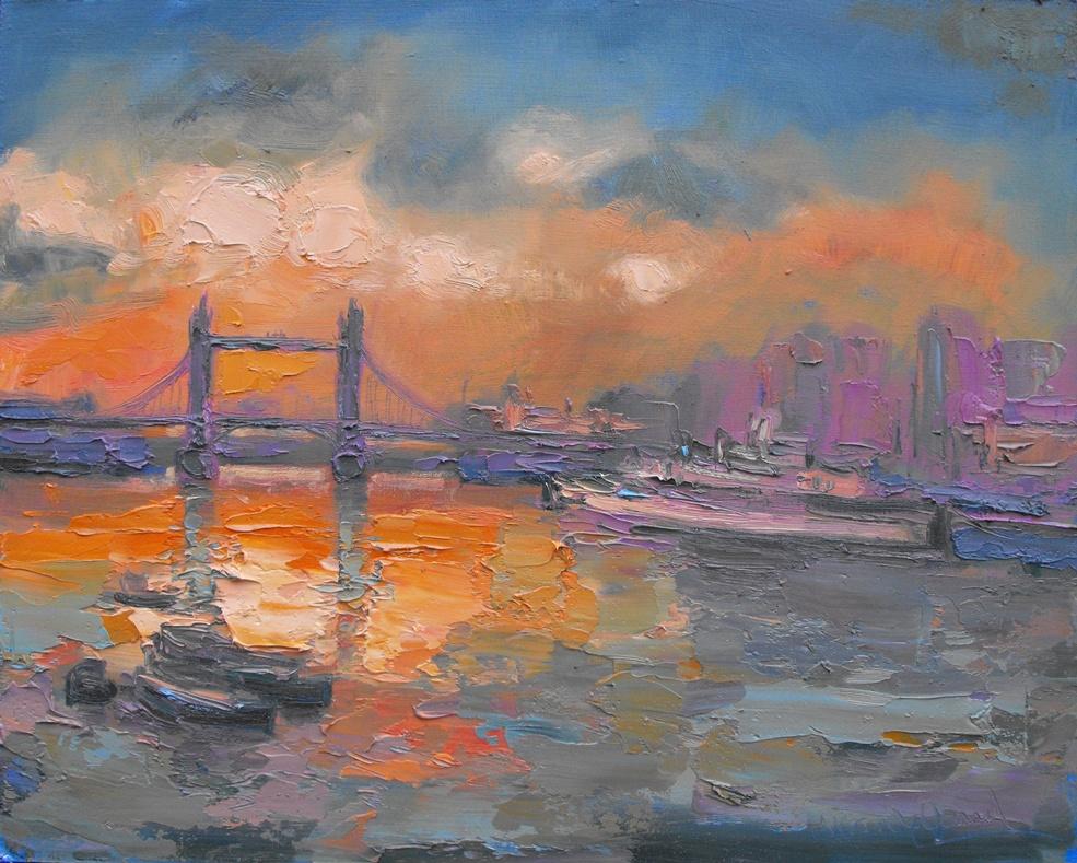 Autumn Light, the Thames