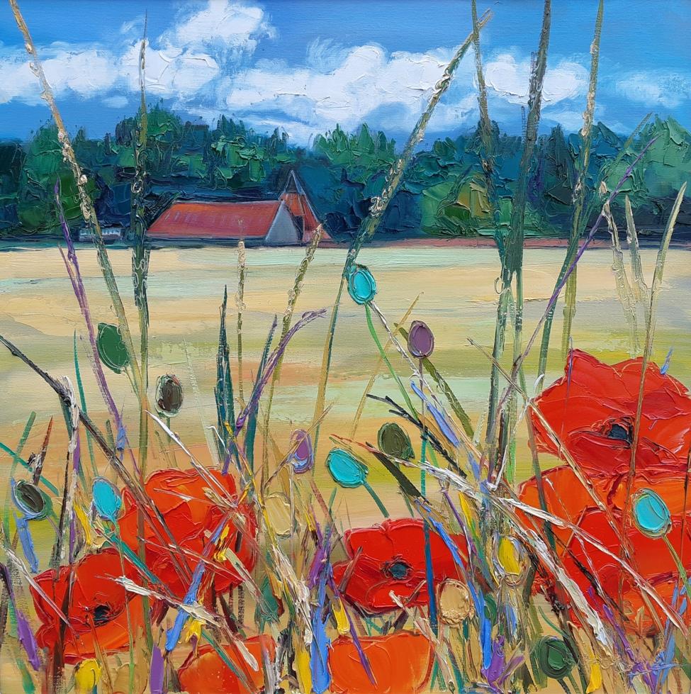 Poppies at Preston Mill