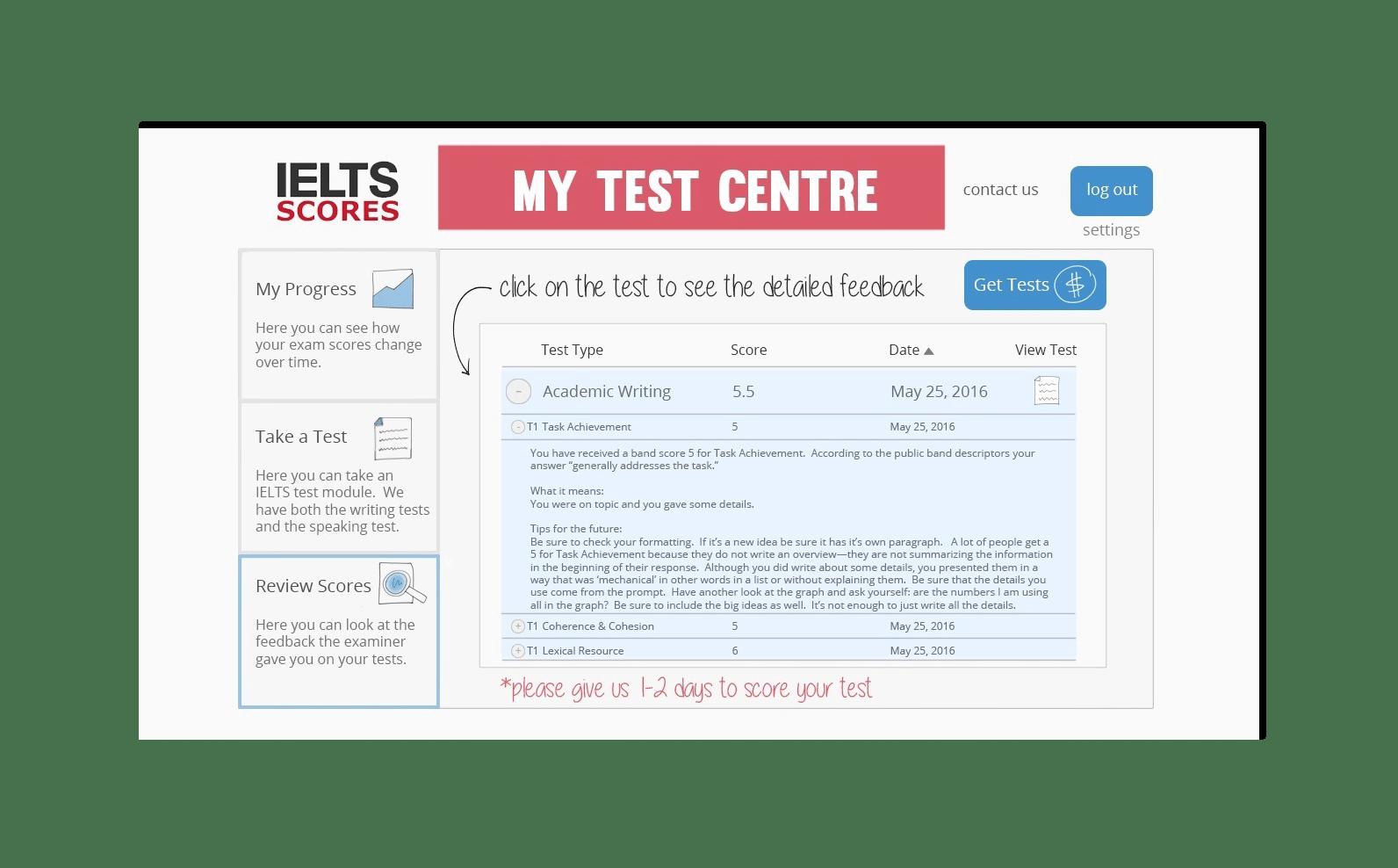 eLearning platform on javascript