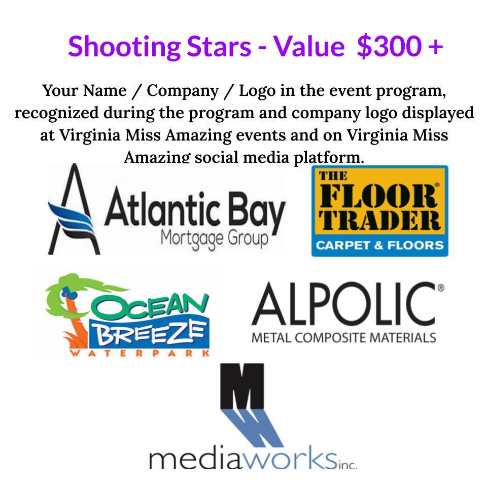 VMA - Shooting Stars sponsors 2020