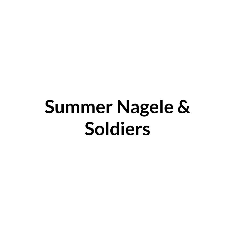 Summer Nagele & Soldiers