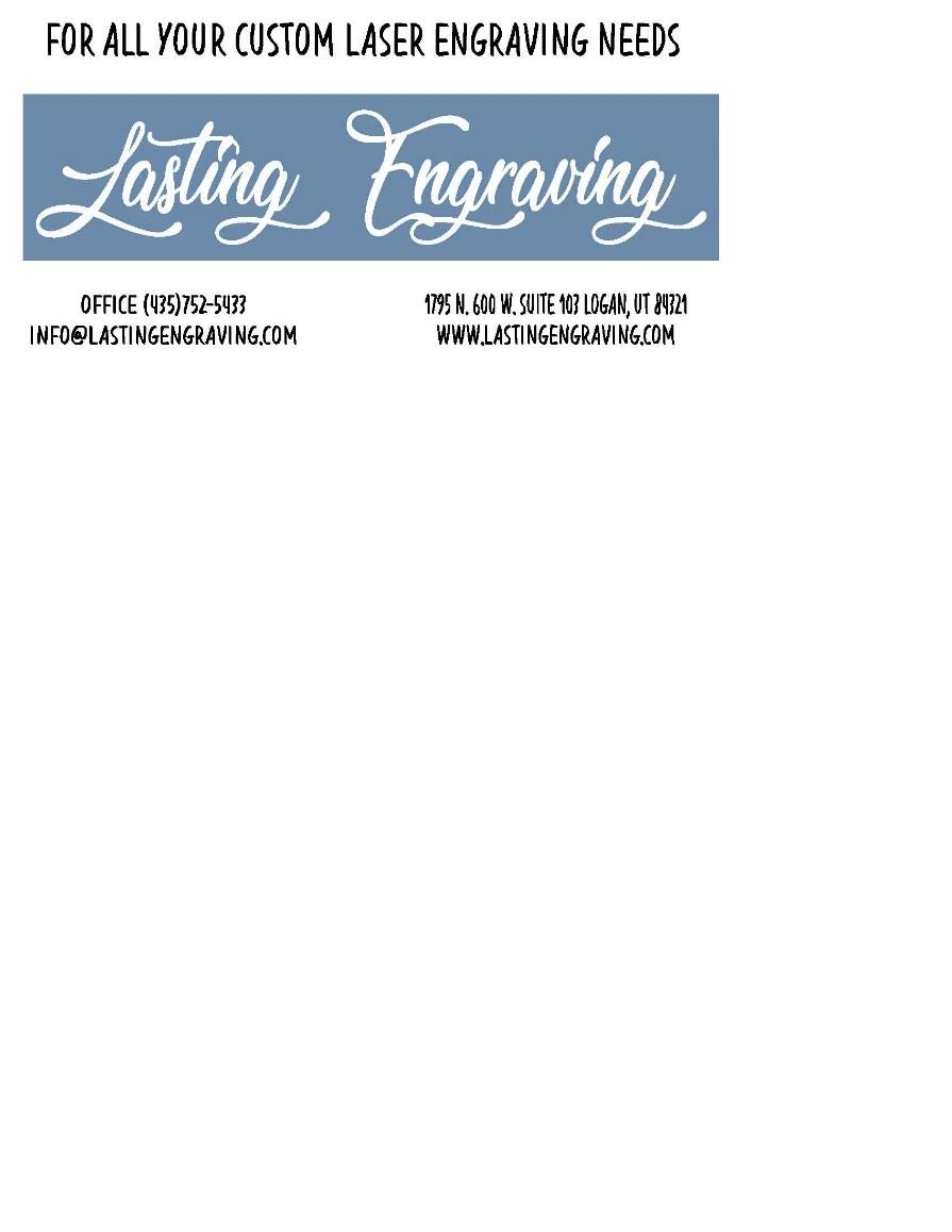 Lasting Engravings