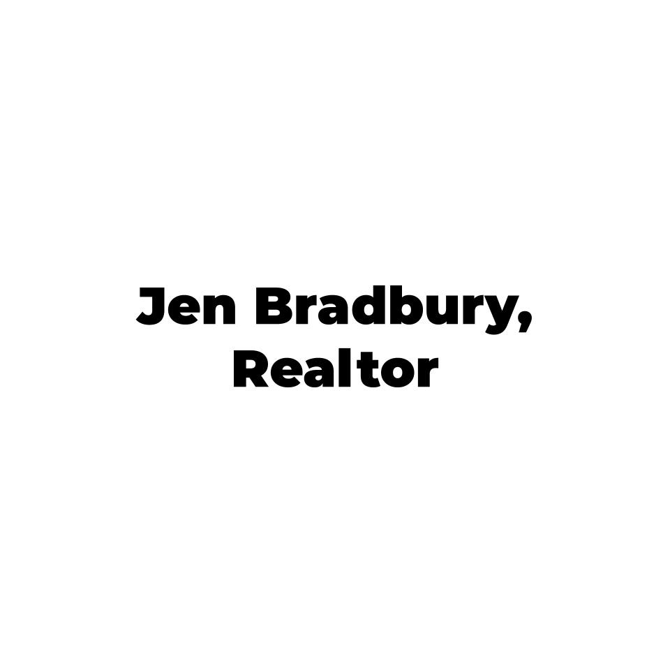 Jen Bradbury, Realtor