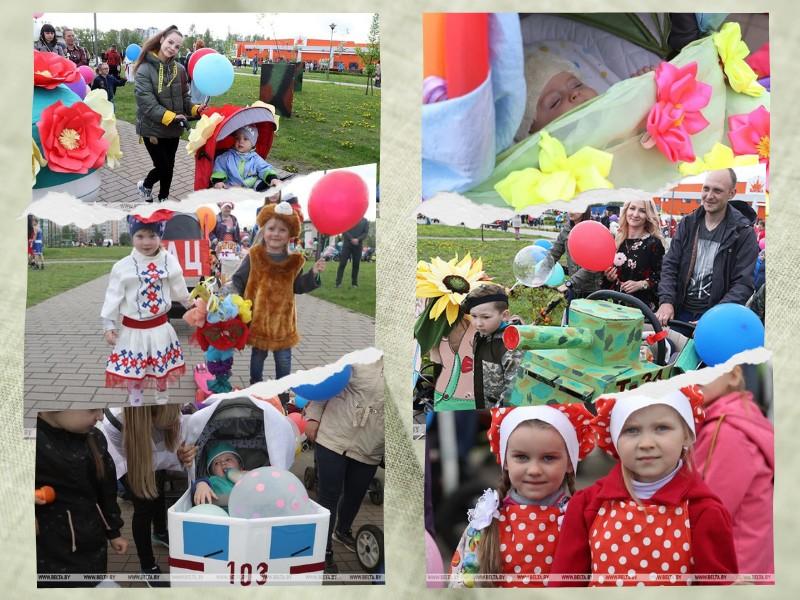 bolee-140-semei-prinyali-uchastie-v-parade-detskikh-kolyasok-v-bobruiske