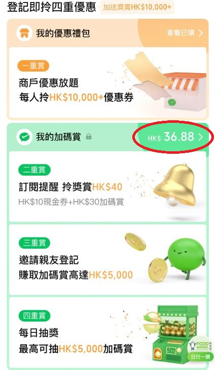 WeChat pay HK加碼額外奬賞
