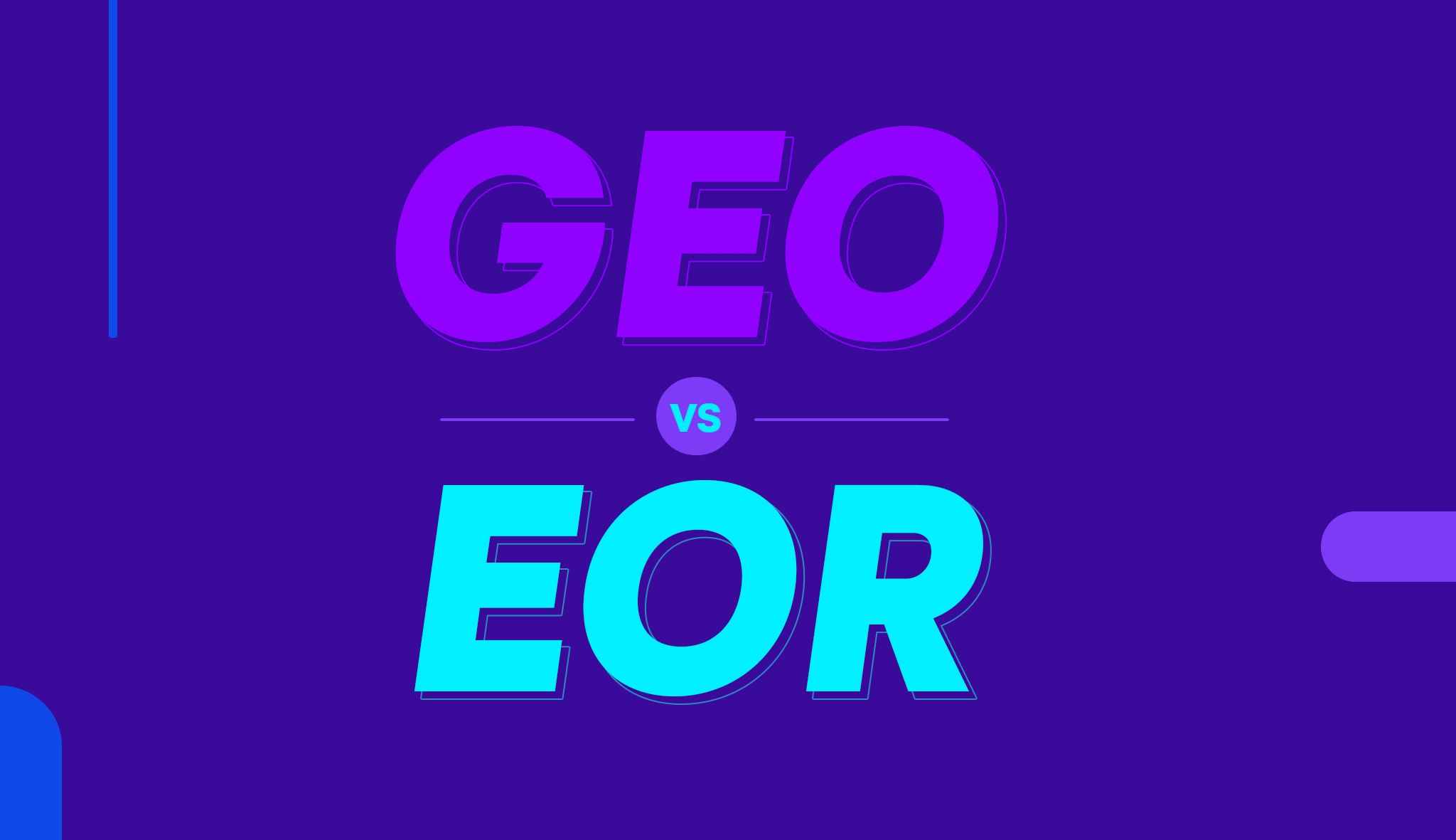 Differences Between GEO and EOR