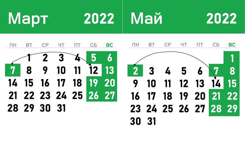 vykhodnye-i-prazdnichnye-dni-v-sleduyushem-godu-v-belarusi-s-uchyotom-perenosov