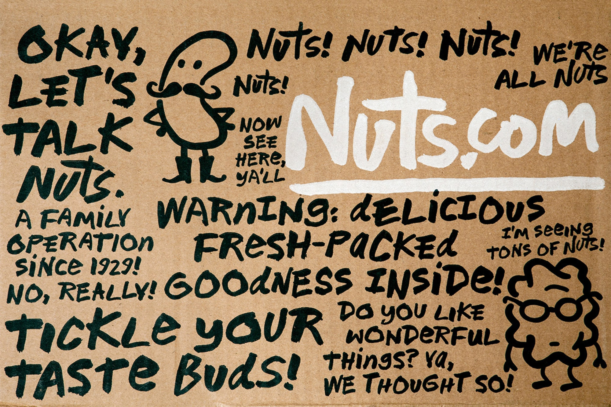Nutcase typeface