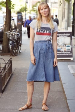 Lookbook levi's donna