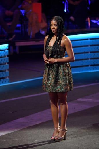 Gabrielle Union - Outfit Chic Cerimonia Lusso