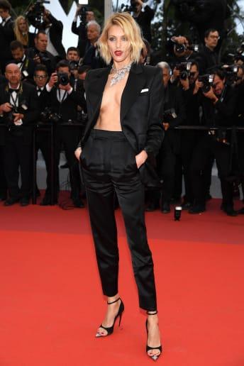 Anja Rubik - Outfit Chic Cerimonia Lusso