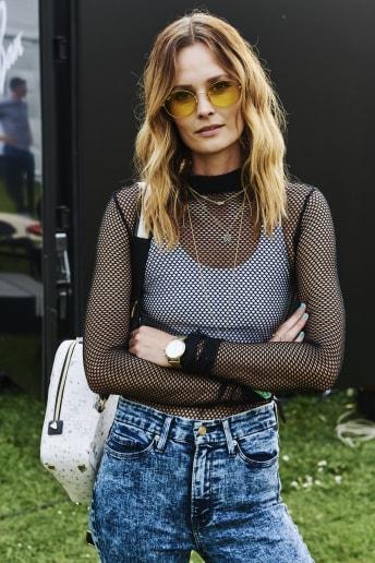 Outfit Donna - Rock Festival Fascia Media
