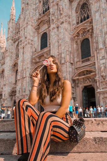 Arianna Cavina - Outfit Trendy Scuola / Università Economico