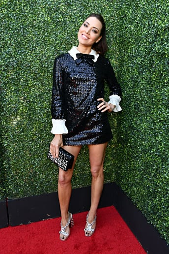 Aubrey Plaza - Outfit Chic Serata speciale Lusso